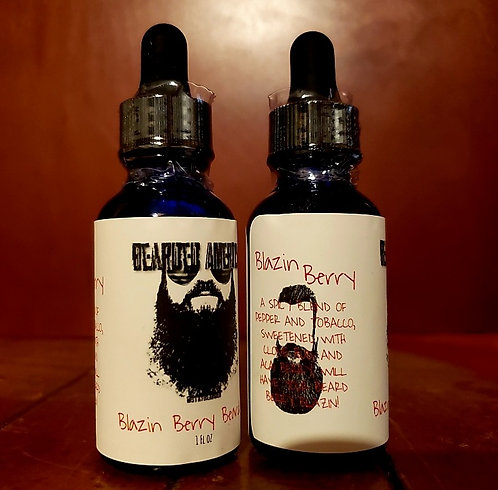 Blazin Berry - Beard Oil - 1oz