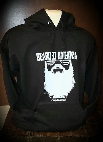 Bearded America Pullover Hoodie