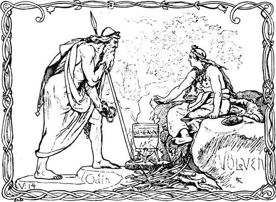 Odin Consults a Volva