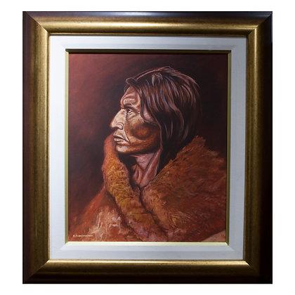 Mosquito Hawk (Acrylic Painting)