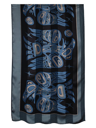 100% Silk Satin Scarf