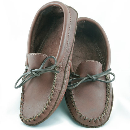 Mens Genuine Moosehide Moccasins