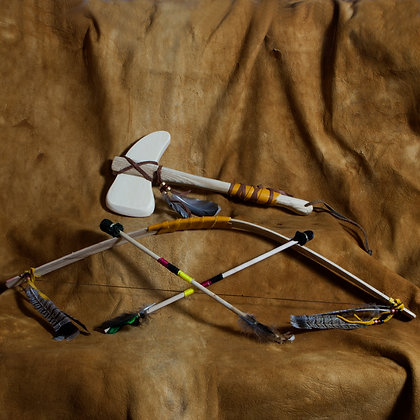 Toy Tomahawk, Bow & Arrow Set