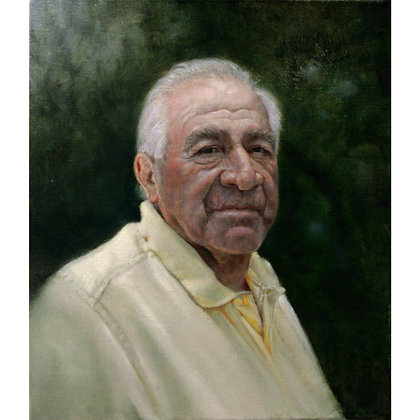Portrait of Mr. Alec 'Sonny' Diabo - Oil on linen