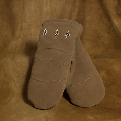 Ladies Suede Mitts
