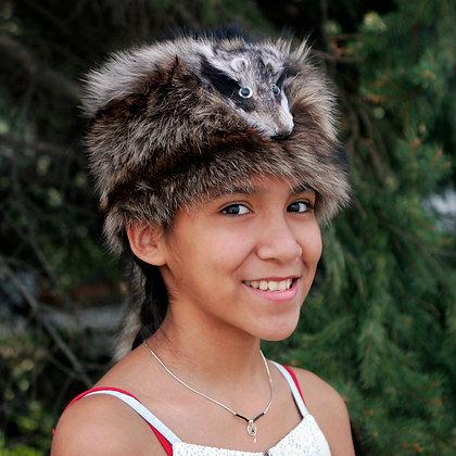 Genuine Raccoon Hat