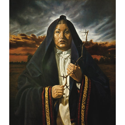 The Passion of Kateri - Oil on Belgian linen