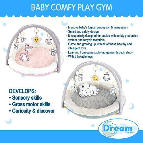 Telun Baby Comfy Play Gym