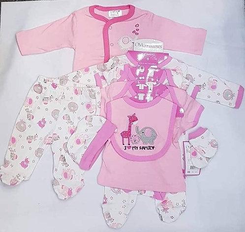 OVO Babies 8 pcs.Layette Set