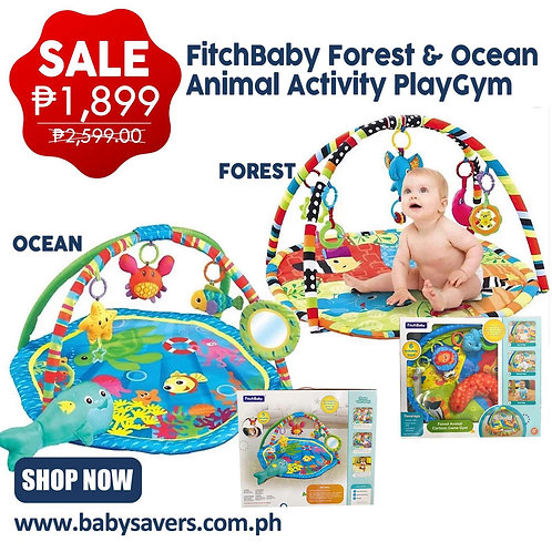 FLASH SALE! Fitchbaby Ocean activity playgym