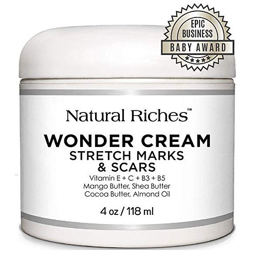 Natural Riches Stretch Marks & Scar Removal Cream, from Natural Riches - 4 oz