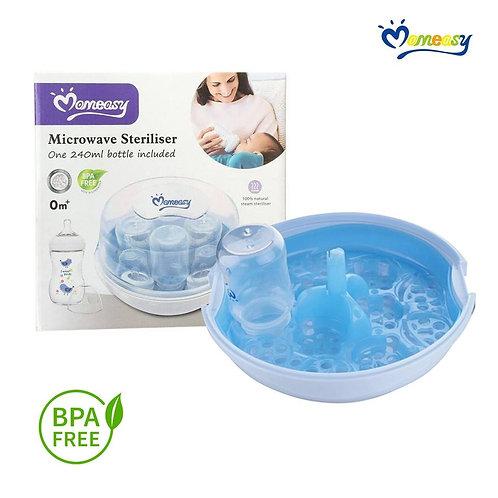 Mom Easy Microwave Steam Sterilizer Set With Free 1x Feeding Bottle Price: P1,20