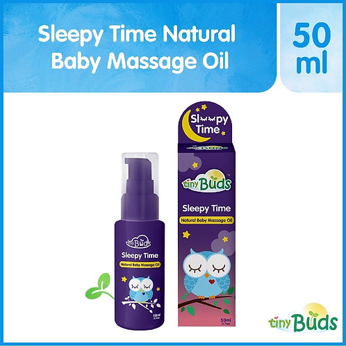 Tiny Buds Sleepy Time Natural Lavender Baby Oil (50ml)