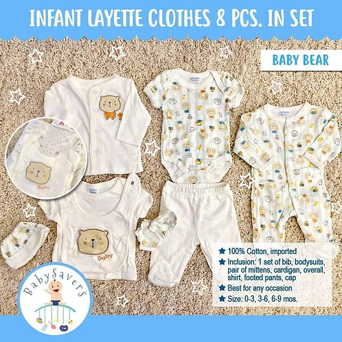 OVO Babies 8 pcs.Layette Set