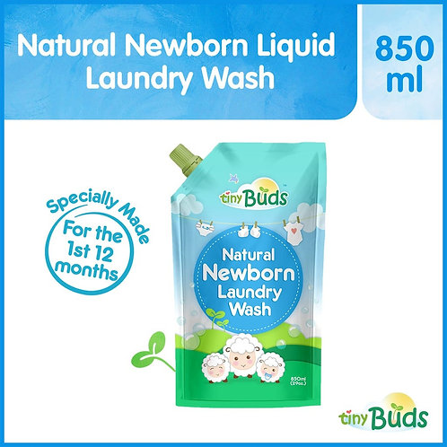Tiny Buds Newborn Laundry Liquid Refill (850ml)