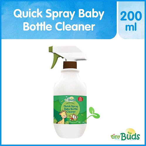 Tiny Buds Quick Spray Baby Bottle Cleaner 200ml
