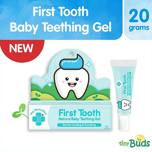 TINY BUDS First Tooth! Natural Teething Gel