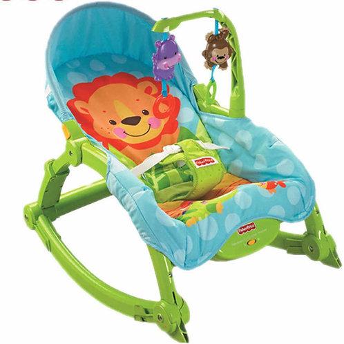 Karakids Toddler Vibrating Rocker Chair with Calming Vibrations