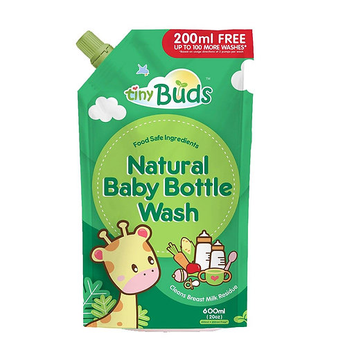Tiny Buds Baby Bottle and Utensil Wash refill 600ml