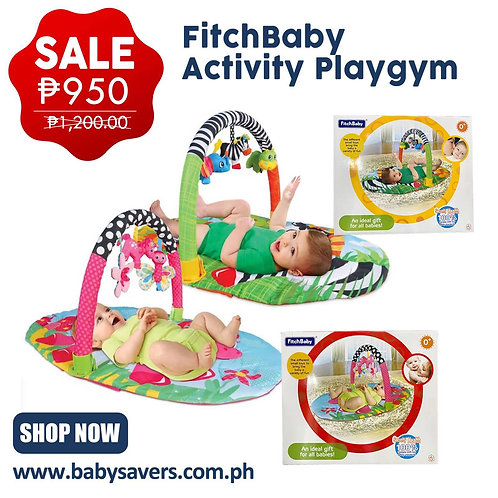 FLASH SALE! FitchBaby activity playgym