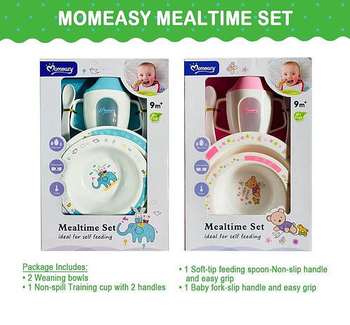 Momeasy Mealtime complete feeding set