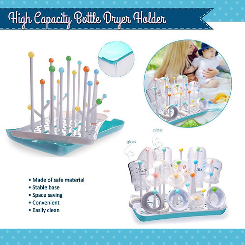 BIG SALE! Termichy High Capacity Bottle Dryer Holder (NO BOX)