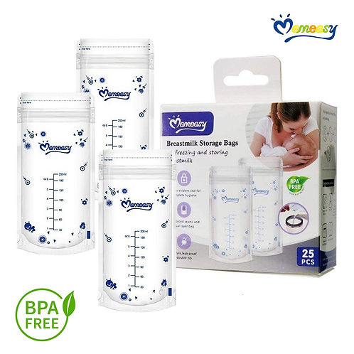 Momeasy 25 200ml Breast Milk Storage Bags