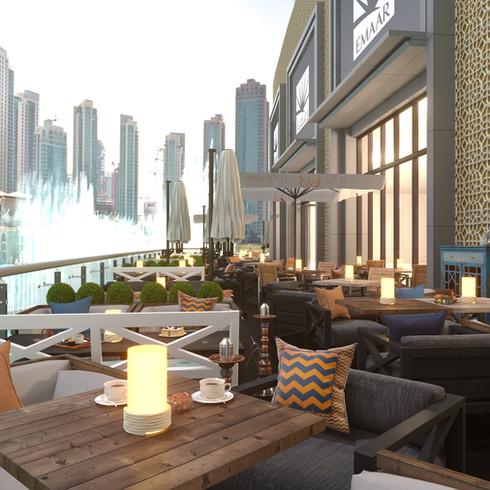 Awani Terrace Dubai Mall