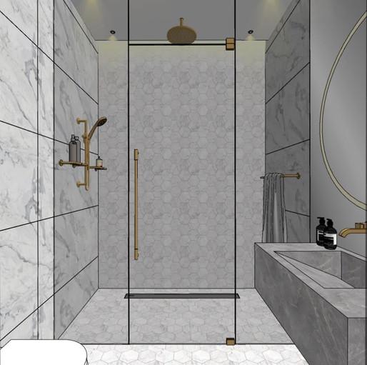 Dubai - City Walk - Guest Bathroom - 01s
