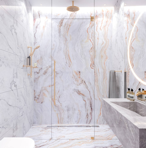 Dubai - City Walk - Guest Bathroom - 01d