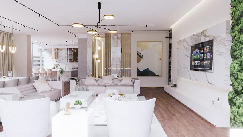 Dubai - City Walk - Living room - 07a.jp