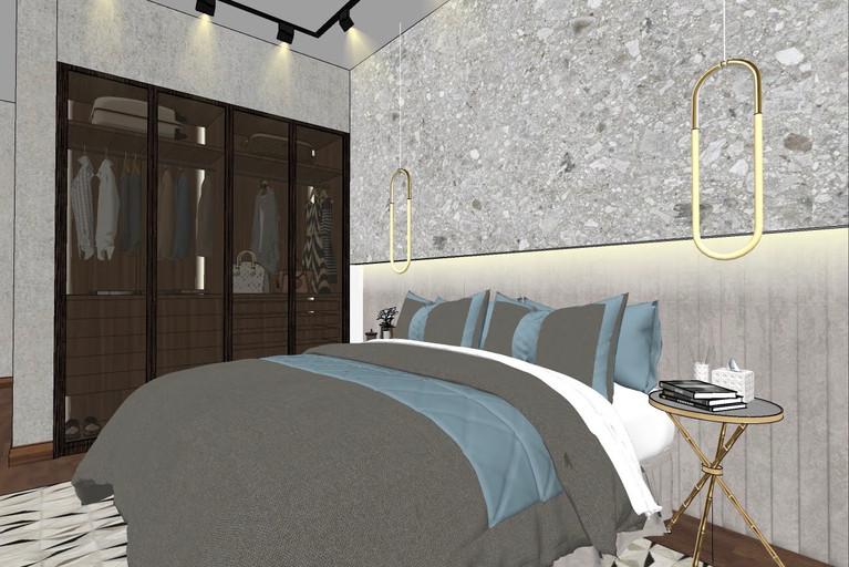 Dubai - City Walk - Guest Bedroom - 04aS