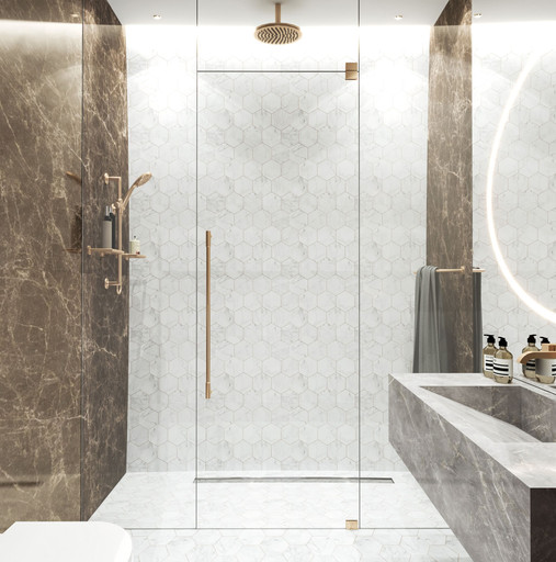Dubai - City Walk - Guest Bathroom - 01a