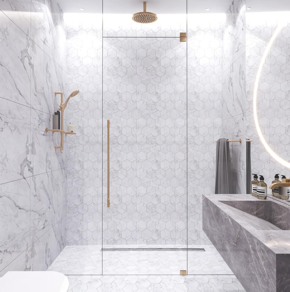 Dubai - City Walk - Guest Bathroom - 01b
