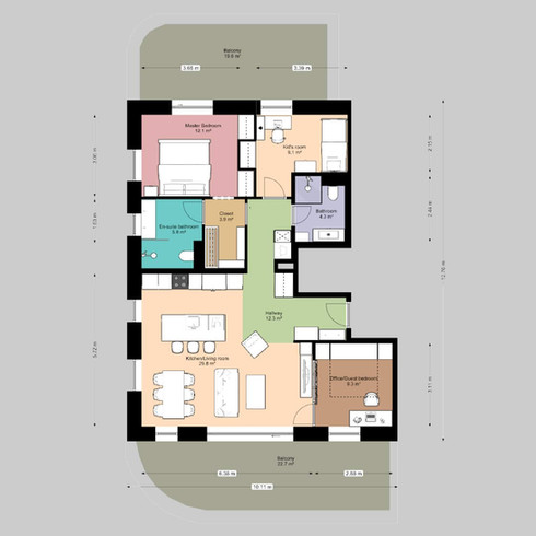 Floor plan options for homebuyers
