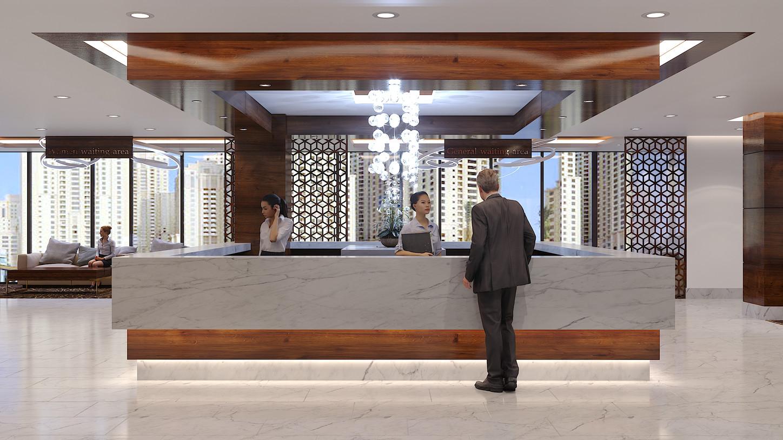 Jumeirah beach hospital - Fifth floor re