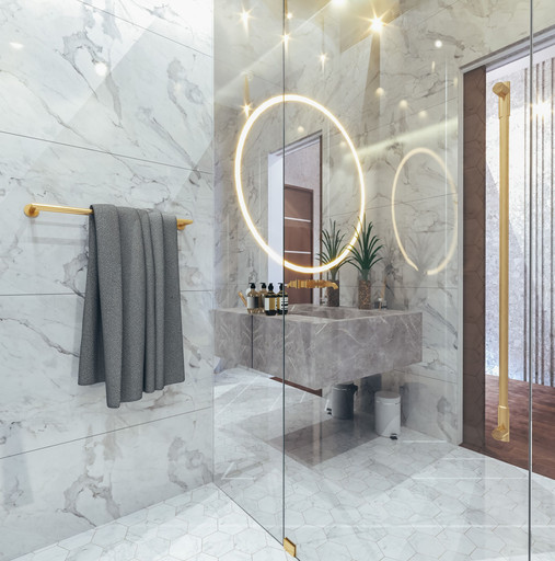 Dubai - City Walk - Guest Bathroom - 05.