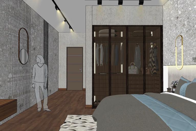 Dubai - City Walk - Guest Bedroom - 04aa