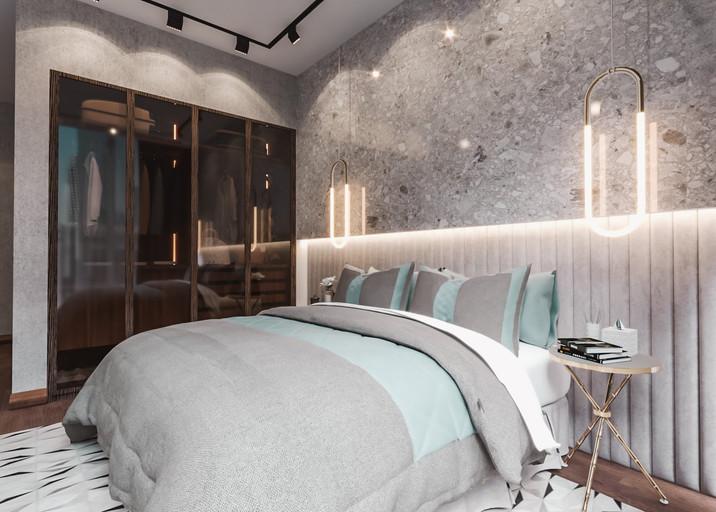 Dubai - City Walk - Guest Bedroom - 04a.