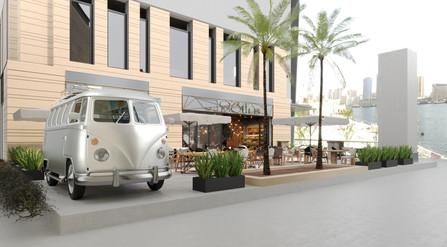 Restaurant, bar design