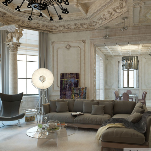Eclectic Mansion