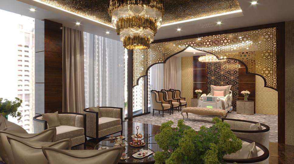 Jumeirah beach hospital - VIP room.jpg