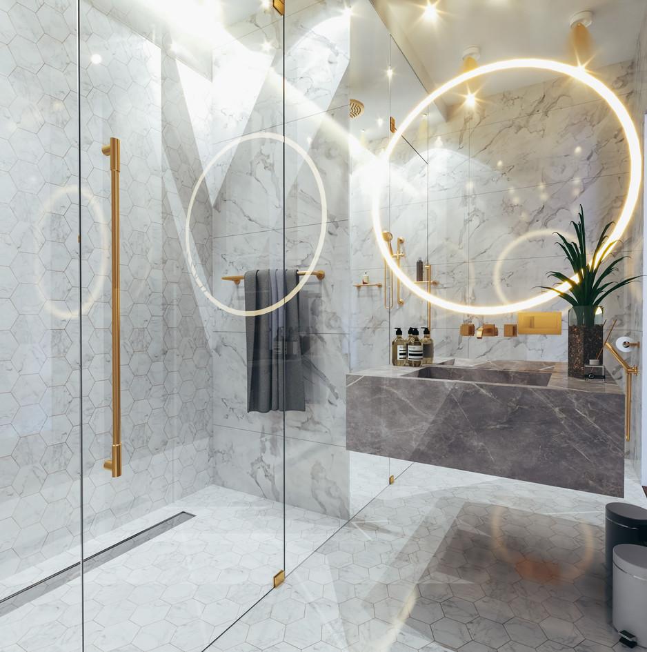 Dubai - City Walk - Guest Bathroom - 03b