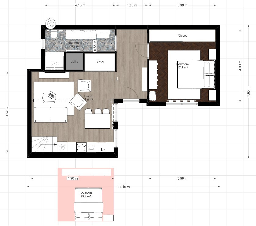 Budapest-interior-design-floo-plan-1-bed