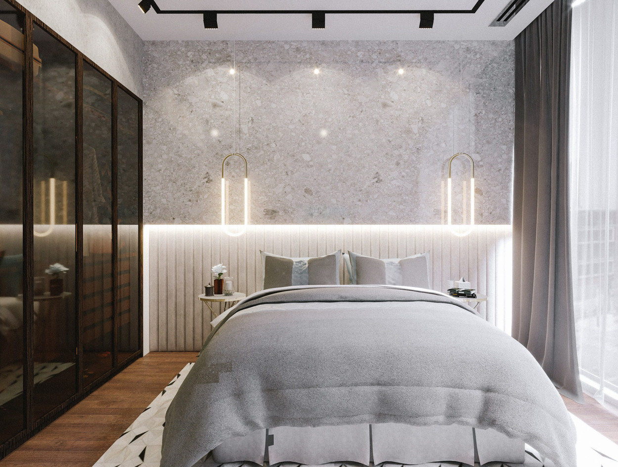 Dubai - City Walk - Guest Bedroom - 02.e
