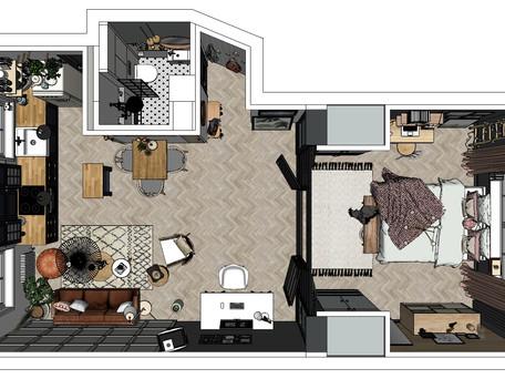 E-Design or In-Person Interior Design Project