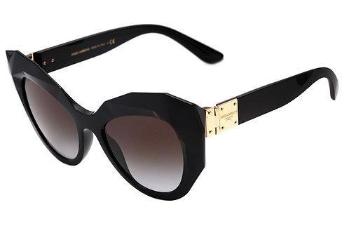 Dolce & Gabbana - Preto/Cinza Degradê - 6122 501-8G 52