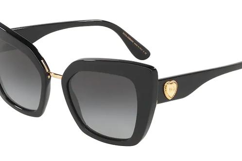 Dolce & Gabbana - Preto - Lente Cinza Escuro - 4359502/1352
