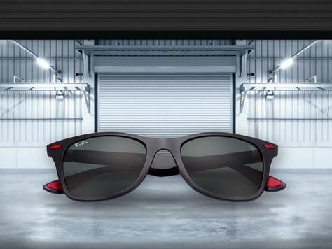 Óticas Kika é escolhida como ponto de vendas EXCLUSIVO da coleção Scuderia Ferrari da Ray-Ban
