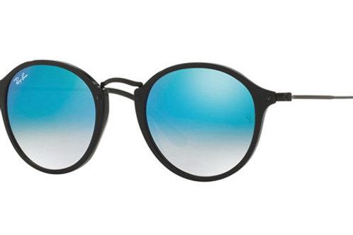 Ray-Ban - Preto/Azul Espelhado Degradê - 2447 9014O 52